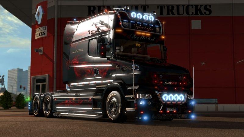 MOD : Pack Longline Scania T & Streamline Edition Smoke Red Ets2_010