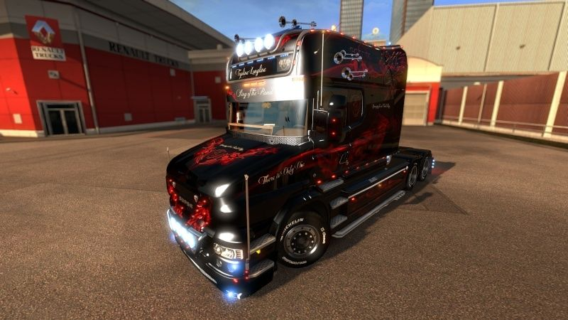 MOD : Pack Longline Scania T & Streamline Edition Smoke Red Ets2_013