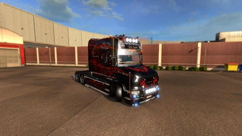 MOD : Pack Longline Scania T & Streamline Edition Smoke Red Ets2_014