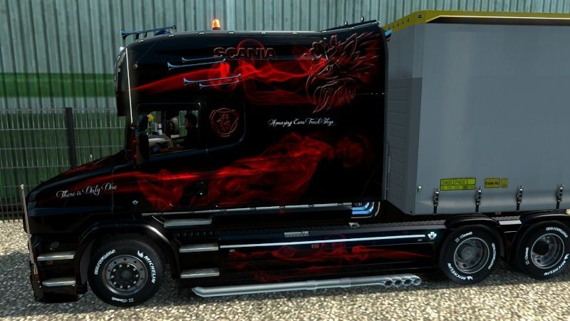 MOD : Pack Longline Scania T & Streamline Edition Smoke Red Ets2_016