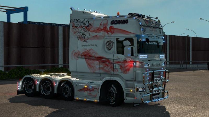 MOD : Pack Longline Scania T & Streamline Edition Smoke Red Ets2_032