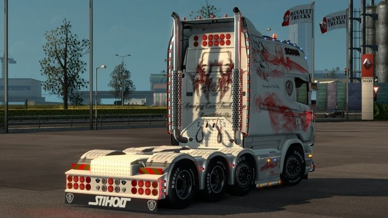 MOD : Pack Longline Scania T & Streamline Edition Smoke Red Ets2_033