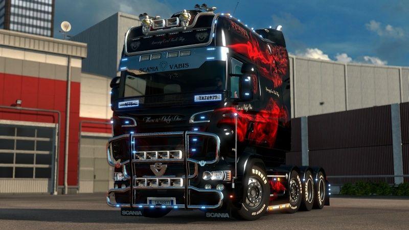 MOD : Pack Longline Scania T & Streamline Edition Smoke Red Ets2_034