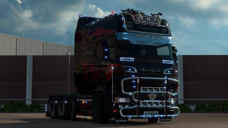 MOD : Pack Longline Scania T & Streamline Edition Smoke Red Ets2_035