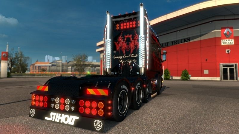 MOD : Pack Longline Scania T & Streamline Edition Smoke Red Ets2_036