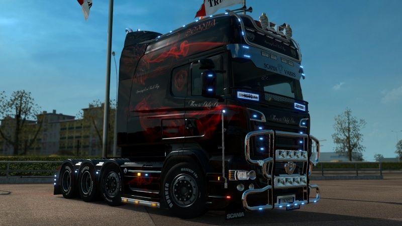 MOD : Pack Longline Scania T & Streamline Edition Smoke Red Ets2_037