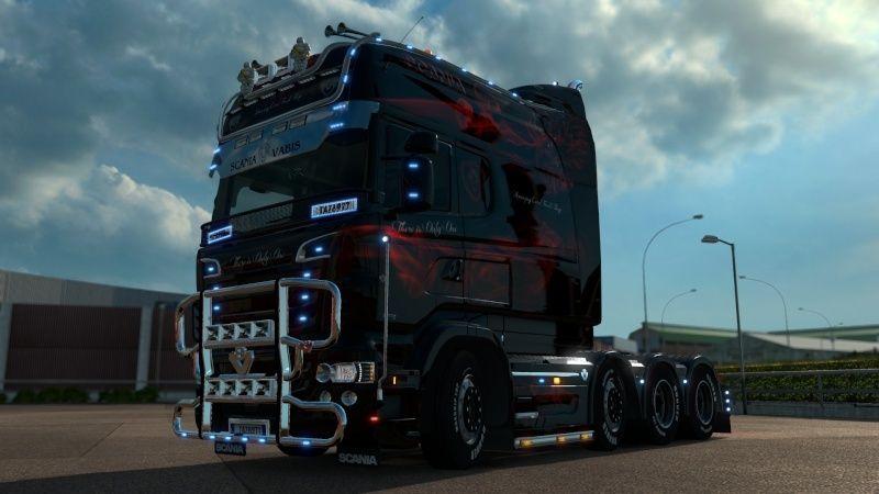 MOD : Pack Longline Scania T & Streamline Edition Smoke Red Ets2_038