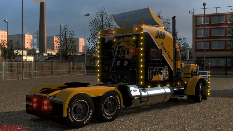 MOD : Peterbilt 389 Wiame Edition CATERPILLAR New 1.18.X Ets2_042