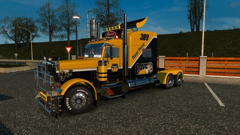 MOD : Peterbilt 389 Wiame Edition CATERPILLAR New 1.18.X Ets2_045