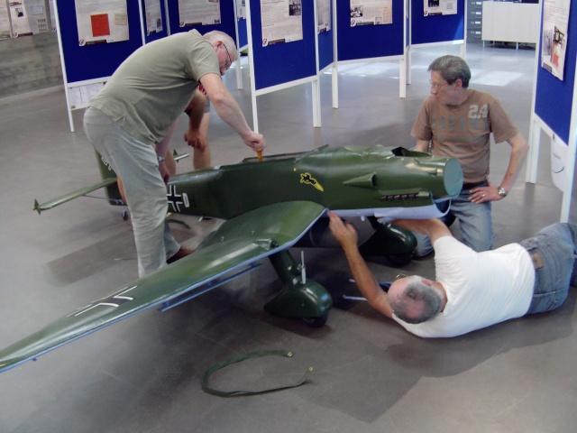 Montage du Stuka au Musée Stuka_72