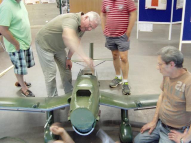 Montage du Stuka au Musée Stuka_73