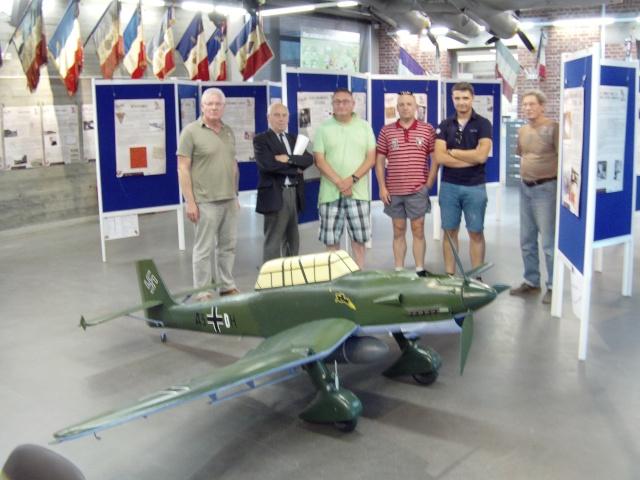 Montage du Stuka au Musée Stuka_78