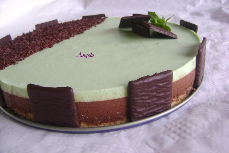 Bavarois chocolat menthe Bavaro10