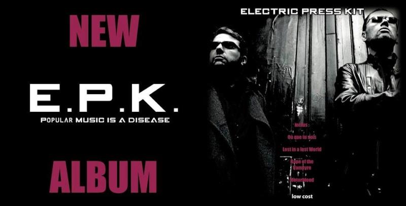 "ELECTRIC PRESS KIT ""LOW COST"" Nouvel album! Bander11"