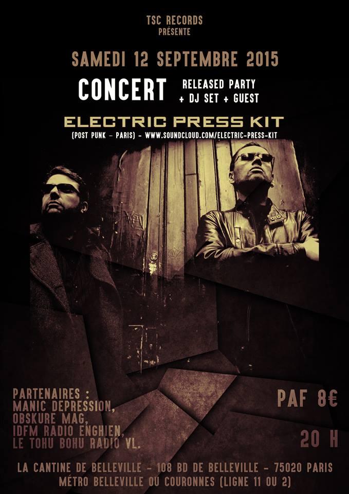 [12.09.15] Electric press kit-Released Party-La cantine-Paris   Flyer_11