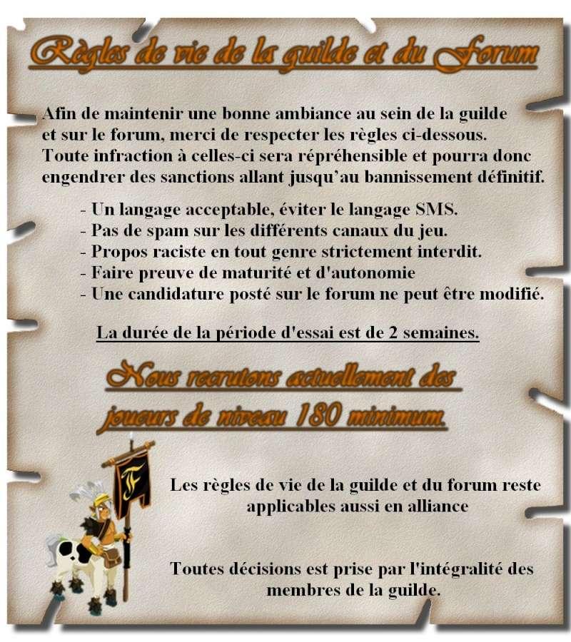 Règle de vie de la guilde et du forum Parche17