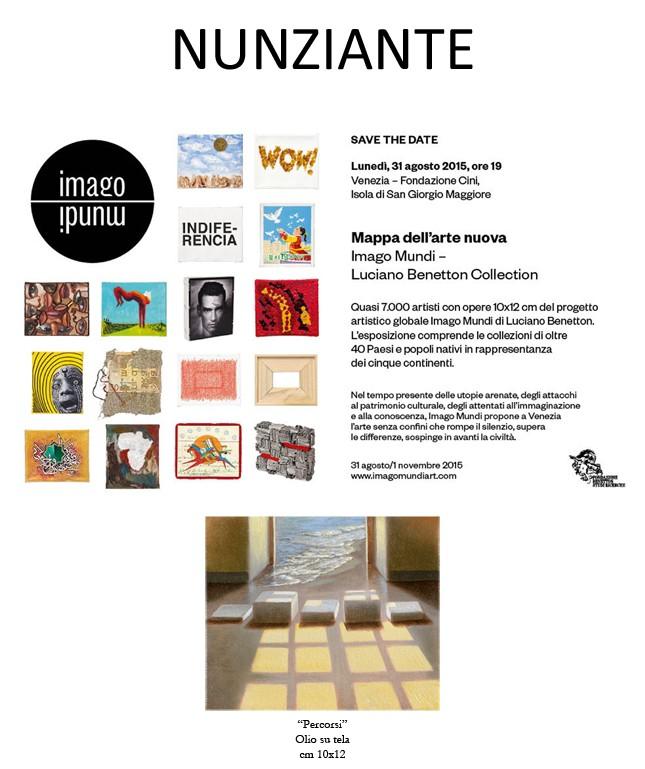 NUNZIANTE alla Fondazione Cini, Biennale di Venezia, Praestigium Contemporary Artists from Italy 26082010