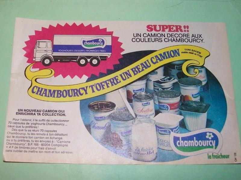 Publicité Chambourcy 100e3710