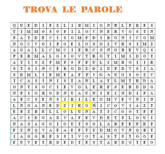 Trova le parole - Pagina 7 Ziro10