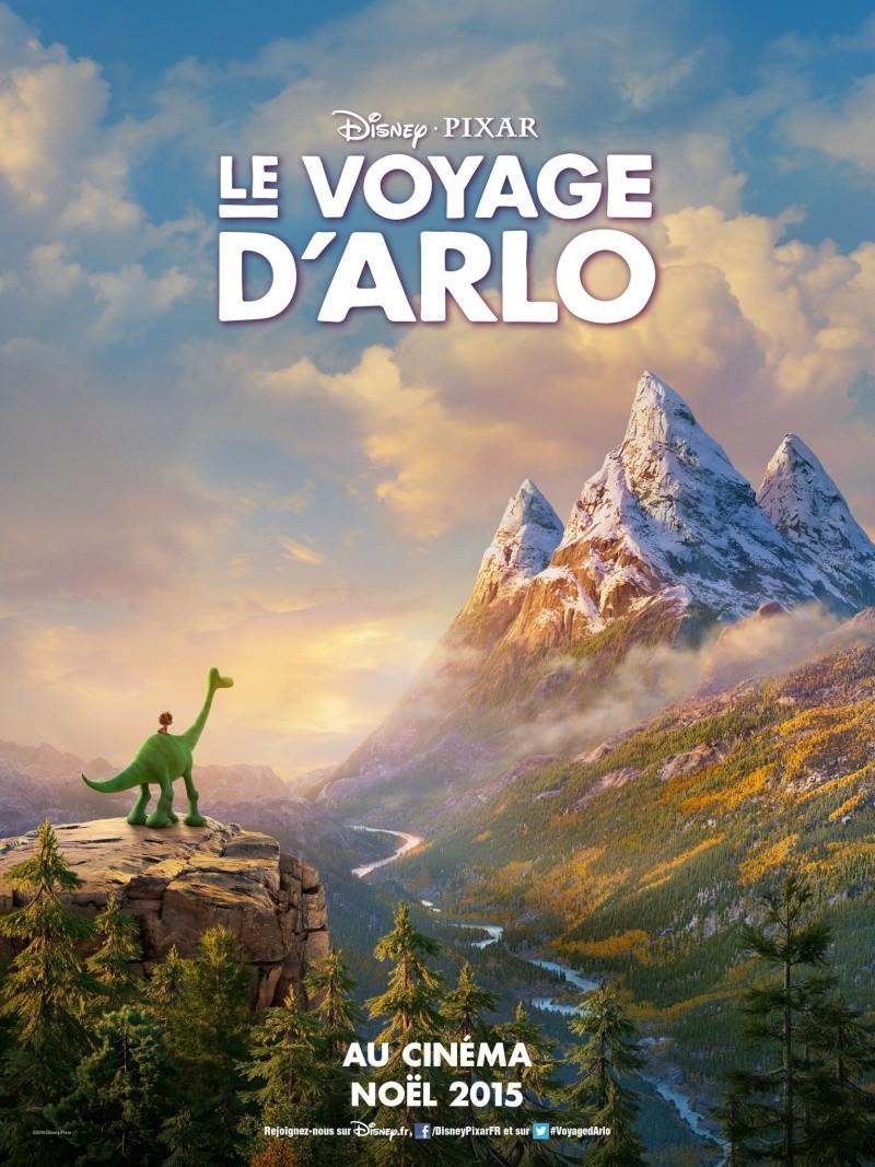 """""""The Good Dinosaur"""" """"Le Voyage d'Arlo""""  Pixar/Disney - 25 Novembre 2015 - Page 2 Affich11"""