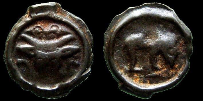 Petit bronze massaliote : coulé et faux ? 0274410