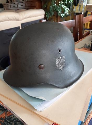 Trouvaille du jour , casque  allemand 113