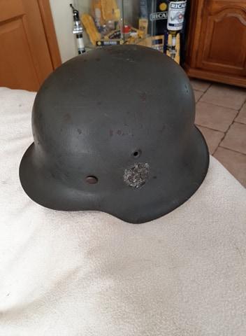 Trouvaille du jour , casque  allemand 313