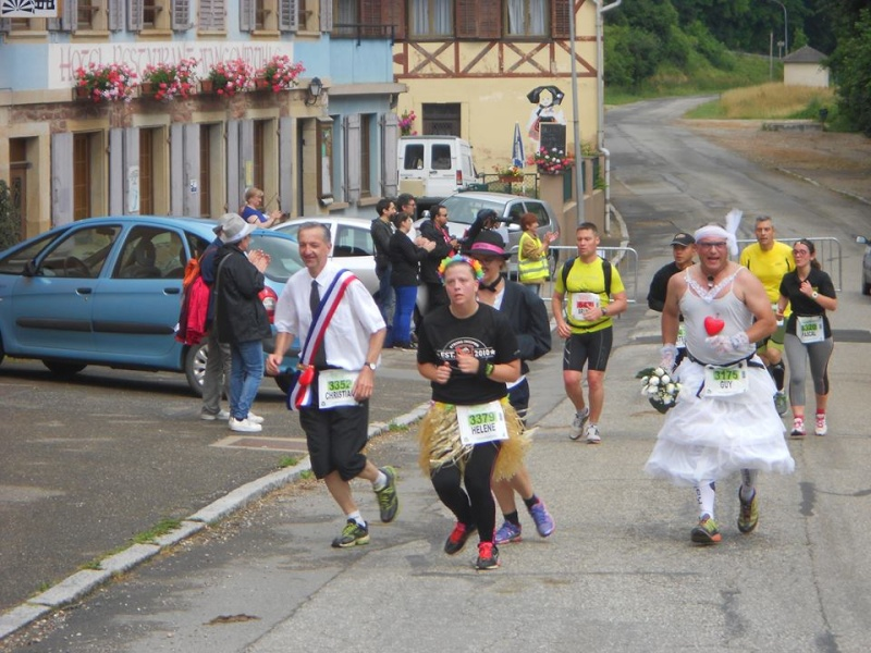 11 ème édition du Marathon du Vignoble d'Alsace et son passage à Wangen le 21 juin 2015 11168912