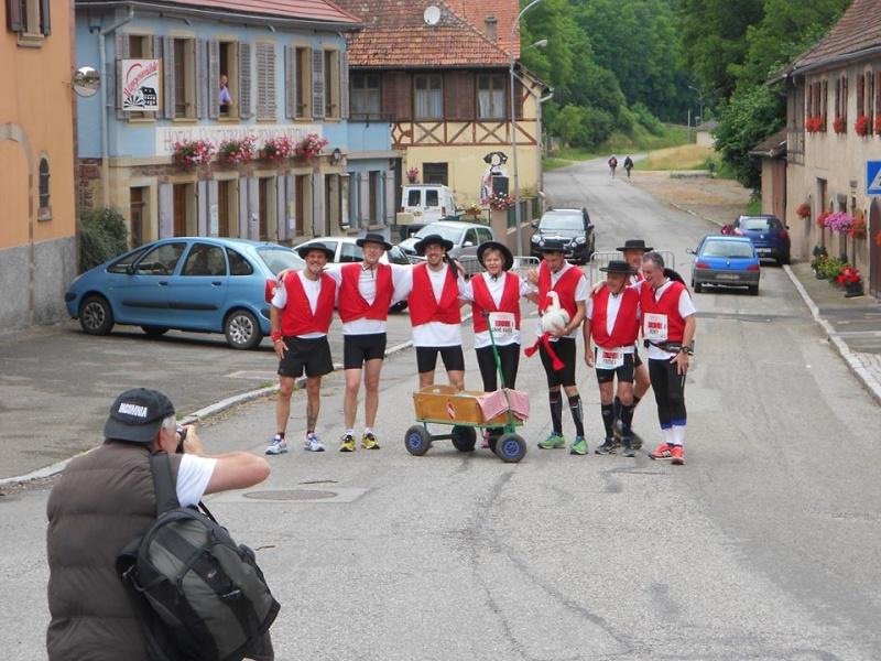 11 ème édition du Marathon du Vignoble d'Alsace et son passage à Wangen le 21 juin 2015 11221510