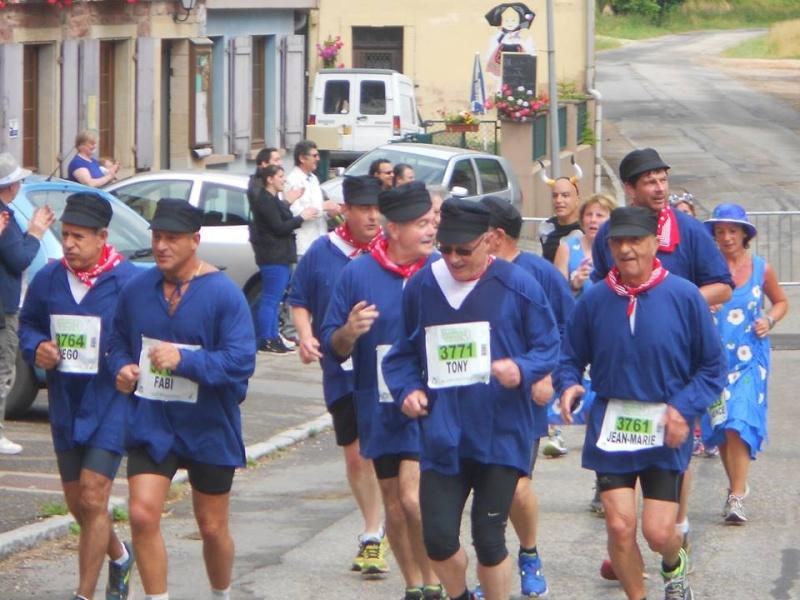 11 ème édition du Marathon du Vignoble d'Alsace et son passage à Wangen le 21 juin 2015 11350410