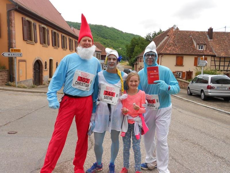11 ème édition du Marathon du Vignoble d'Alsace et son passage à Wangen le 21 juin 2015 16107710