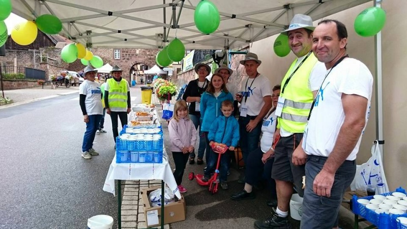 11 ème édition du Marathon du Vignoble d'Alsace et son passage à Wangen le 21 juin 2015 18688_10