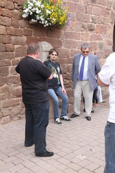 Visite de Monsieur le Député Laurent Furst le 28 juillet 2015 à Wangen Img_0019