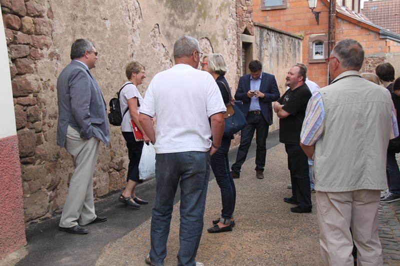 Visite de Monsieur le Député Laurent Furst le 28 juillet 2015 à Wangen Img_0032