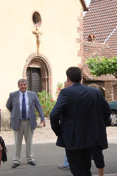 Visite de Monsieur le Député Laurent Furst le 28 juillet 2015 à Wangen Img_0033