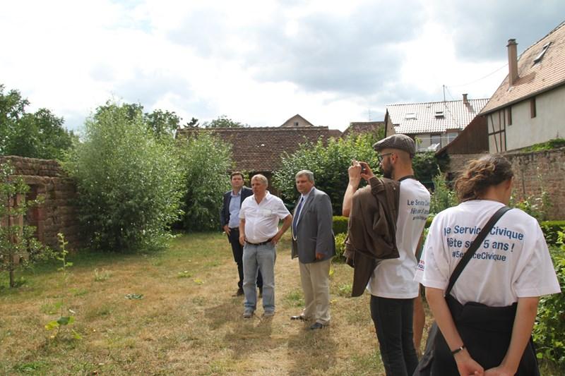 Visite de Monsieur le Député Laurent Furst le 28 juillet 2015 à Wangen Img_0110