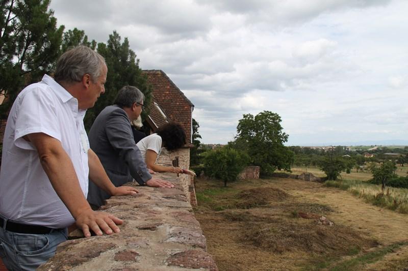 Visite de Monsieur le Député Laurent Furst le 28 juillet 2015 à Wangen Img_0115