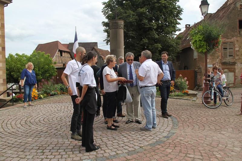 Visite de Monsieur le Député Laurent Furst le 28 juillet 2015 à Wangen Img_0118