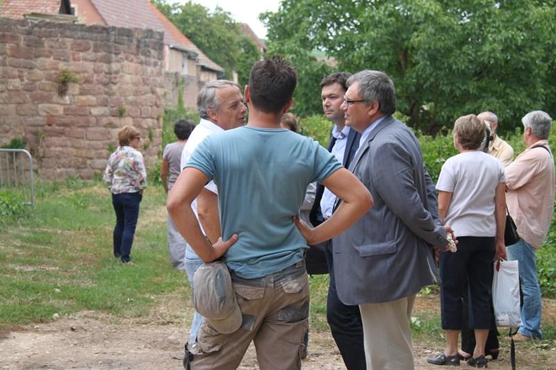 Visite de Monsieur le Député Laurent Furst le 28 juillet 2015 à Wangen Img_0128