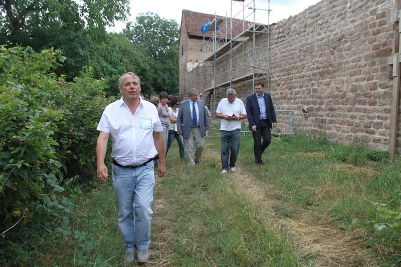 Visite de Monsieur le Député Laurent Furst le 28 juillet 2015 à Wangen Img_0132