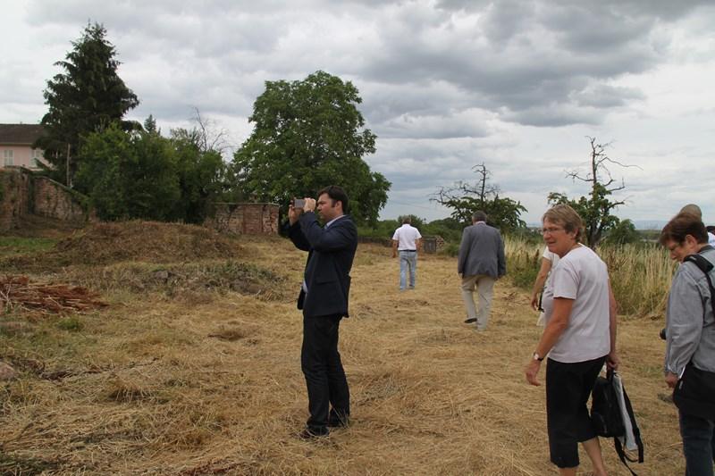 Visite de Monsieur le Député Laurent Furst le 28 juillet 2015 à Wangen Img_0133