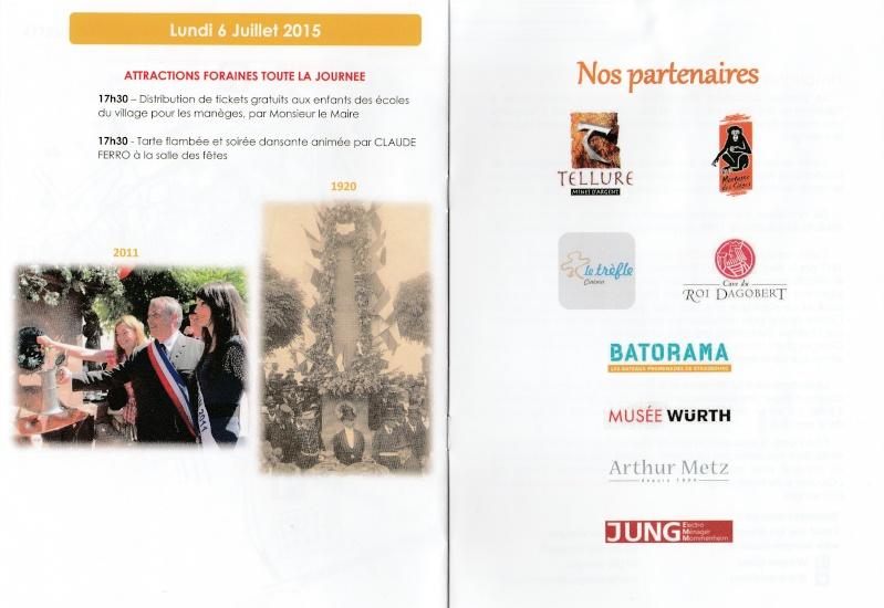 188 ème édition de la Fête de la Fontaine de Wangen, 5-6 juillet 2015 Img_2012