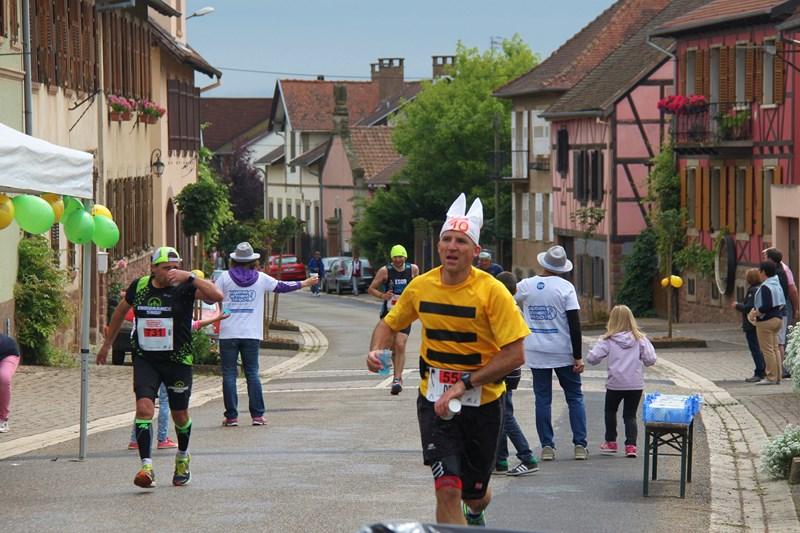 11 ème édition du Marathon du Vignoble d'Alsace et son passage à Wangen le 21 juin 2015 Img_8111