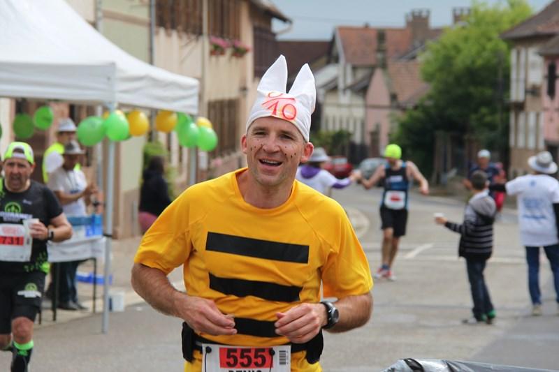 11 ème édition du Marathon du Vignoble d'Alsace et son passage à Wangen le 21 juin 2015 Img_8112