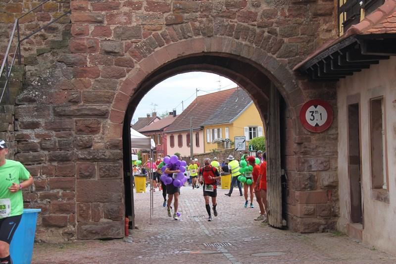 11 ème édition du Marathon du Vignoble d'Alsace et son passage à Wangen le 21 juin 2015 Img_8210