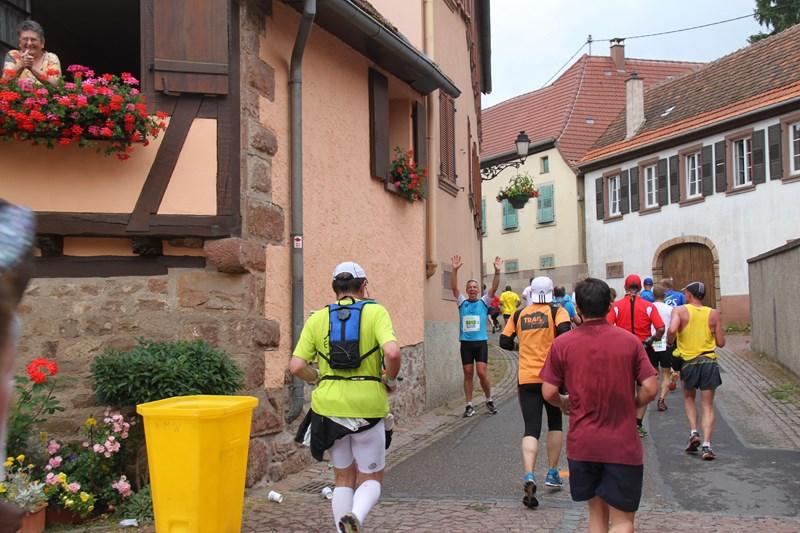 11 ème édition du Marathon du Vignoble d'Alsace et son passage à Wangen le 21 juin 2015 Img_8214