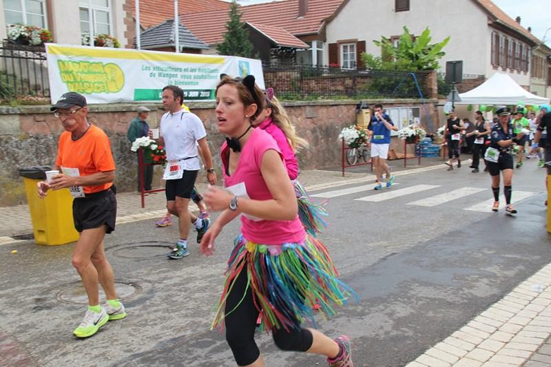 11 ème édition du Marathon du Vignoble d'Alsace et son passage à Wangen le 21 juin 2015 Img_8218