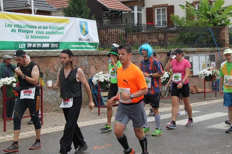 11 ème édition du Marathon du Vignoble d'Alsace et son passage à Wangen le 21 juin 2015 Img_8219