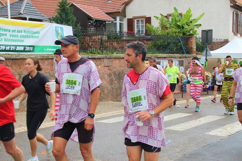 11 ème édition du Marathon du Vignoble d'Alsace et son passage à Wangen le 21 juin 2015 Img_8222