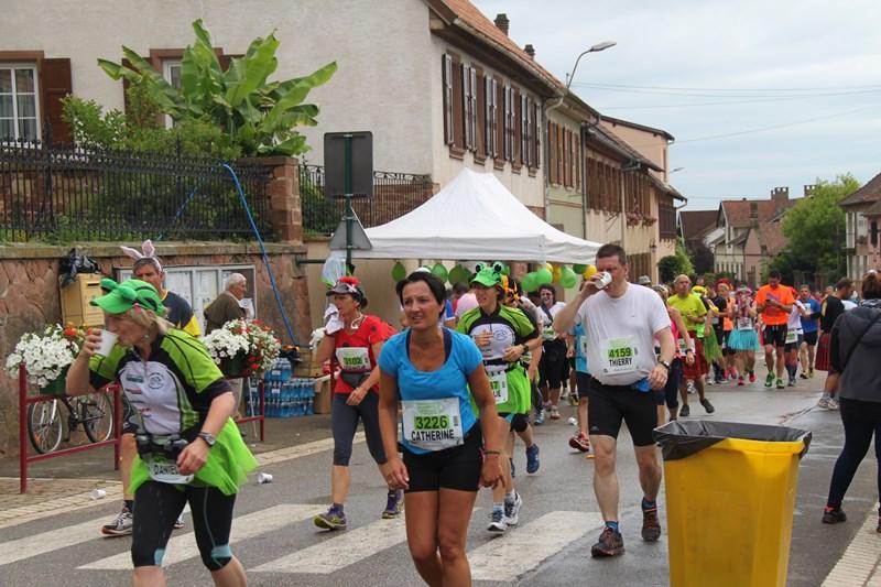 11 ème édition du Marathon du Vignoble d'Alsace et son passage à Wangen le 21 juin 2015 Img_8226